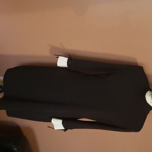 Black dress cream cuffs